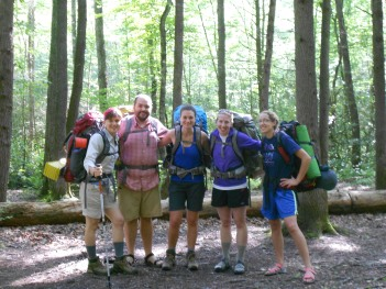 Backpacking with friends