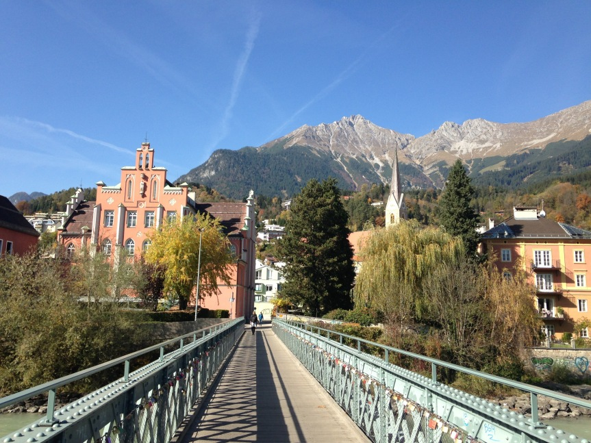 Walking through Innsbruck